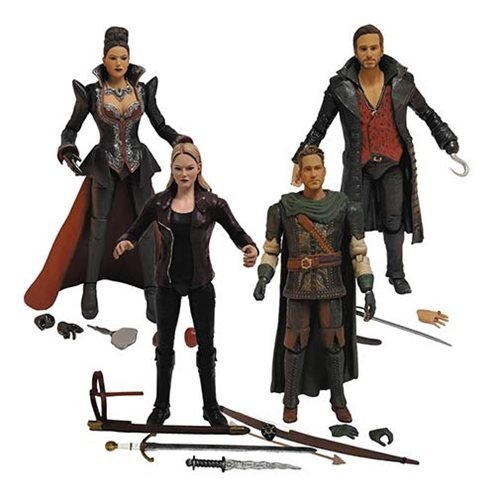 Icon Heroes Action Figures Regina Hook Emma Robin