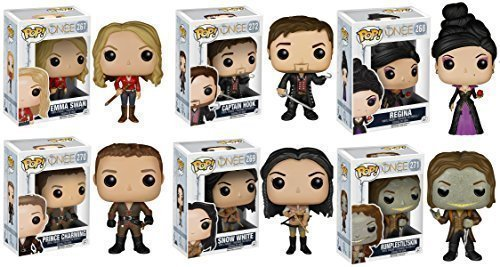Funko Pop Emma Prince Charming Snow White Captain Hook Rumplestiltskin