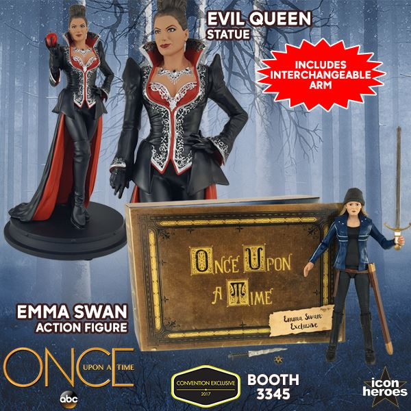 Icon Heroes Emma Swan action figure